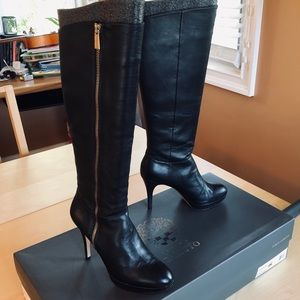 Vince Camuto Emilian Tall Leather Boots